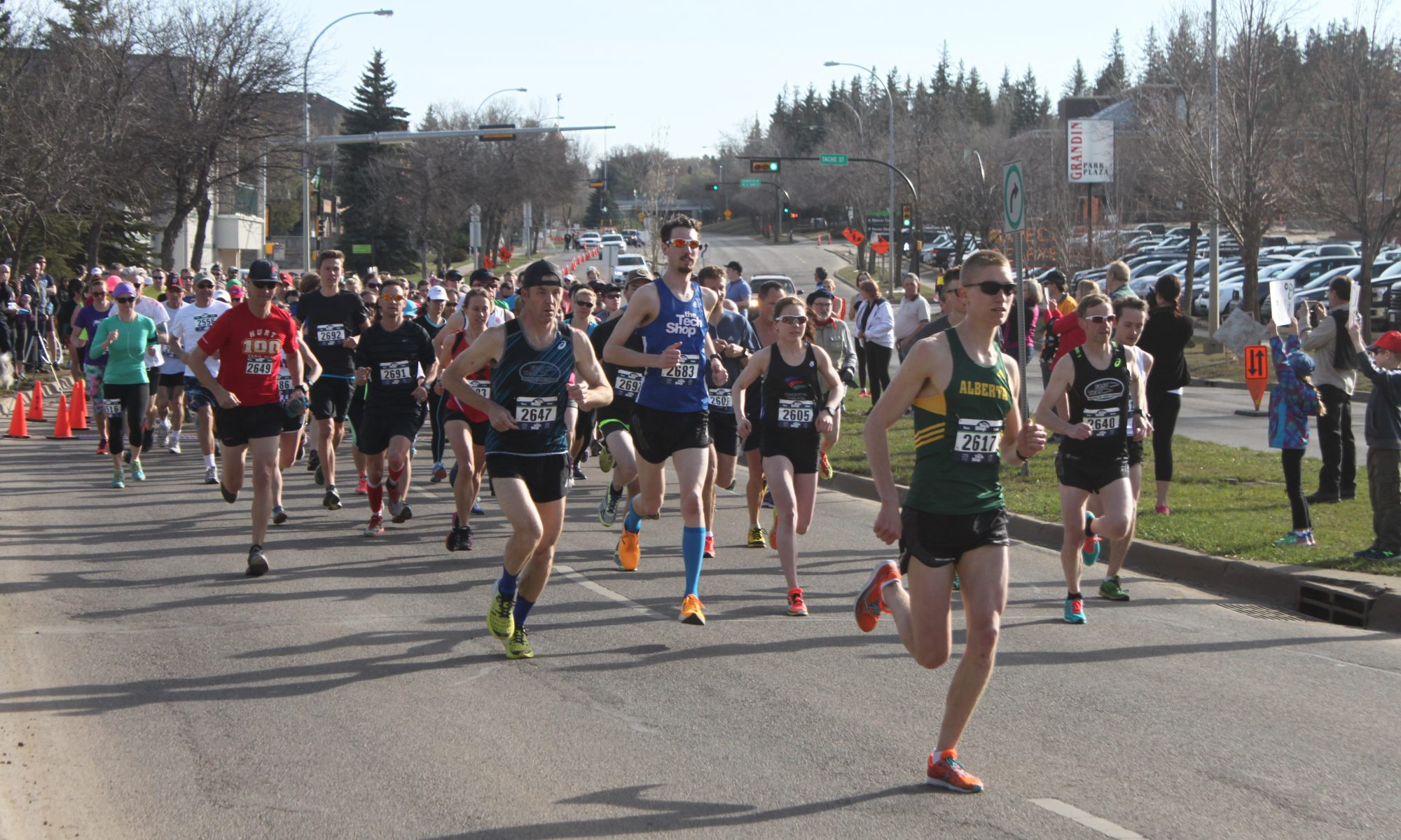 LANDREX St. Albert Road Race